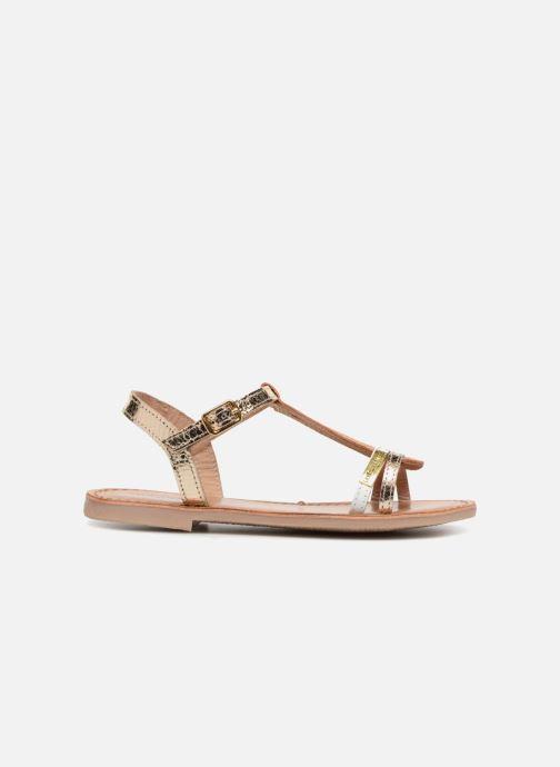 Sandali e scarpe aperte Les Tropéziennes par M Belarbi Bada Oro e bronzo immagine posteriore