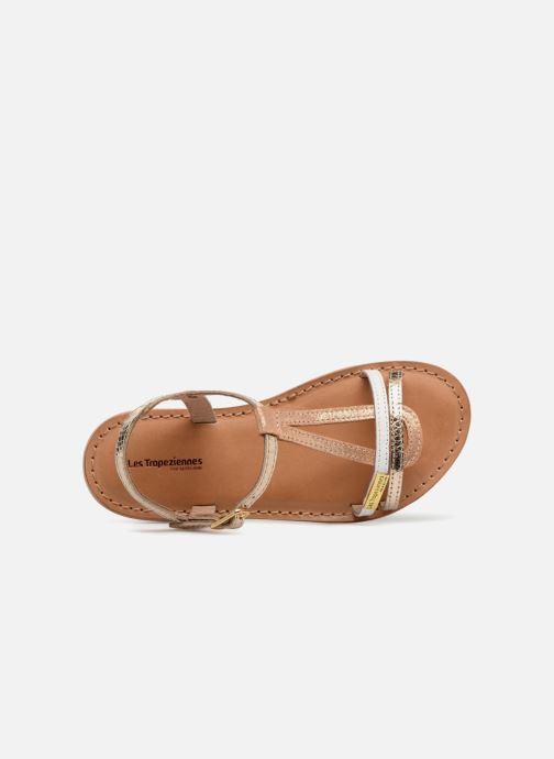 Sandales et nu-pieds Les Tropéziennes par M Belarbi Bada Or et bronze vue gauche