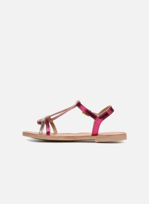 Sandales et nu-pieds Les Tropéziennes par M Belarbi Bada Argent vue face