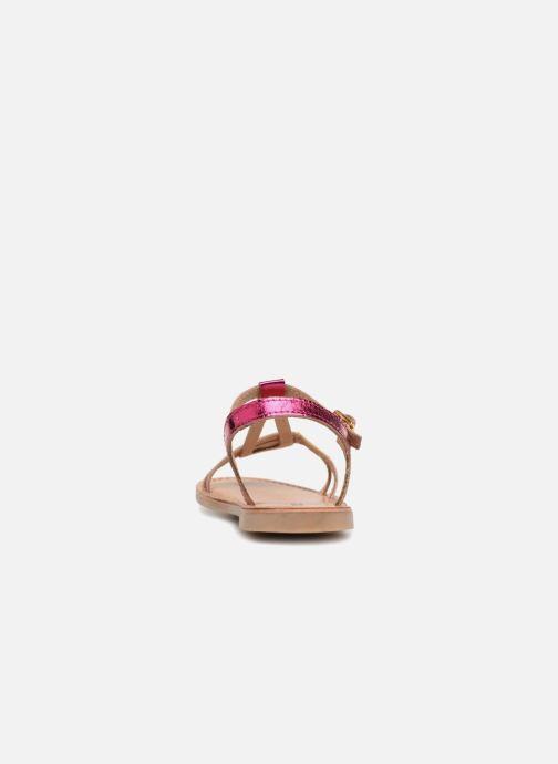 Sandales et nu-pieds Les Tropéziennes par M Belarbi Bada Argent vue droite