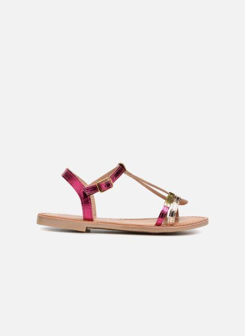 Sandales et nu-pieds Les Tropéziennes par M Belarbi Bada Argent vue derrière