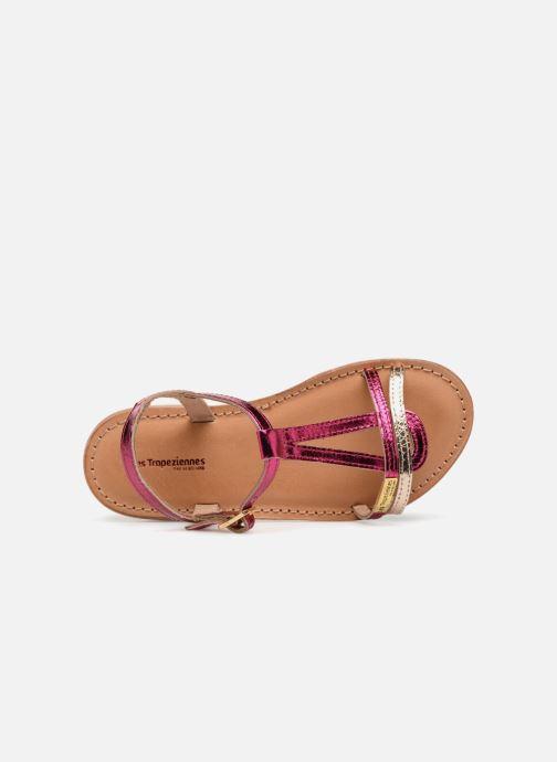 Sandales et nu-pieds Les Tropéziennes par M Belarbi Bada Argent vue gauche