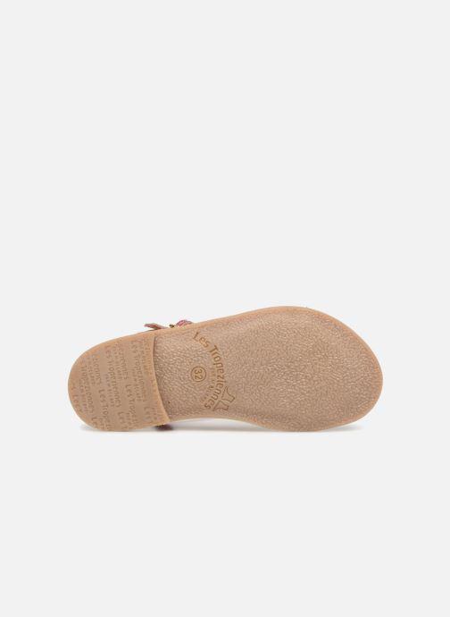 Sandales et nu-pieds Les Tropéziennes par M Belarbi Bada Argent vue haut
