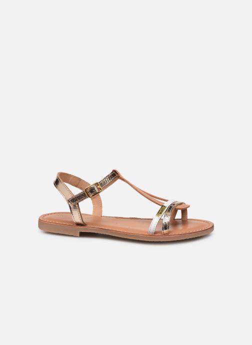 Sandales et nu-pieds Les Tropéziennes par M Belarbi Bada Or et bronze vue derrière