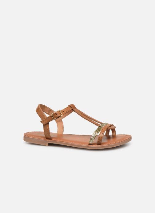 Sandales et nu-pieds Les Tropéziennes par M Belarbi Bada Marron vue derrière