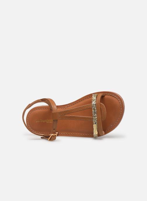 Sandales et nu-pieds Les Tropéziennes par M Belarbi Bada Marron vue gauche