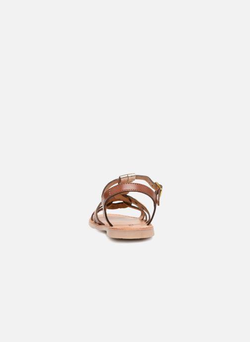 Sandales et nu-pieds Les Tropéziennes par M Belarbi Badami Marron vue droite