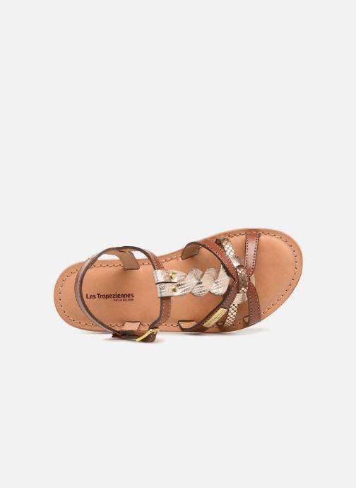 Sandales et nu-pieds Les Tropéziennes par M Belarbi Badami Marron vue gauche