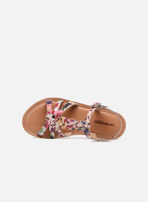 Sandals Les Tropéziennes par M Belarbi Badami Multicolor view from the left