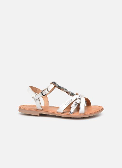 Sandales et nu-pieds Les Tropéziennes par M Belarbi Badami Blanc vue derrière
