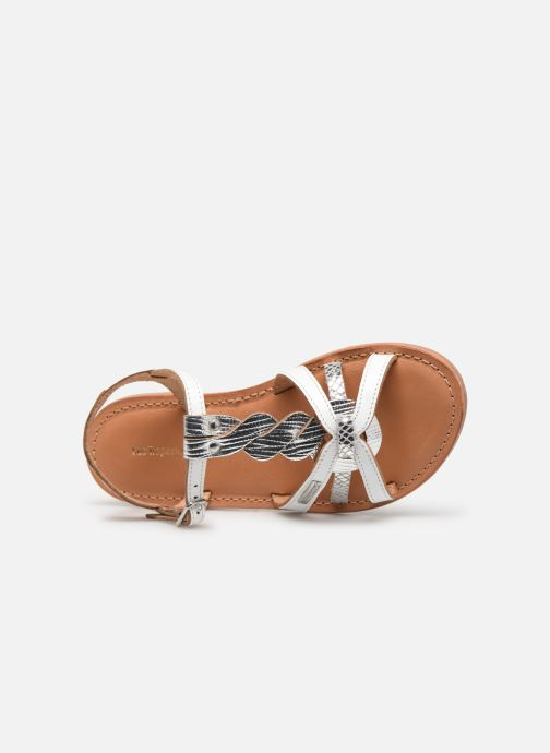 Sandali e scarpe aperte Les Tropéziennes par M Belarbi Badami Bianco immagine sinistra