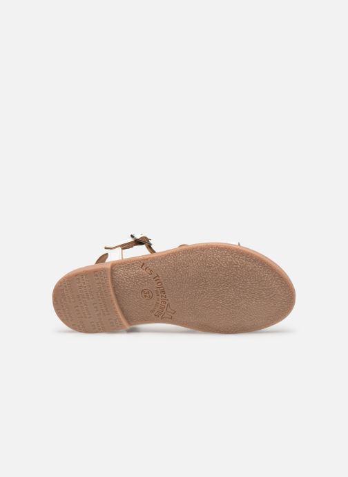 Sandales et nu-pieds Les Tropéziennes par M Belarbi Badami Blanc vue haut