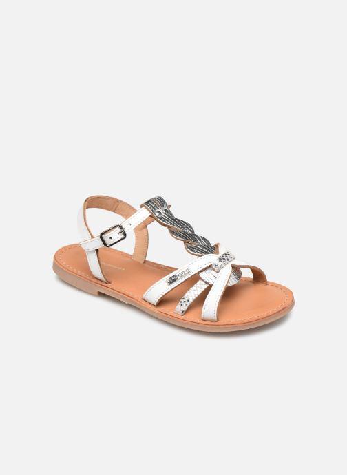 Sandales et nu-pieds Les Tropéziennes par M Belarbi Badami Blanc vue détail/paire