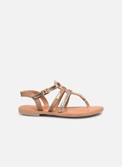 Sandales et nu-pieds Les Tropéziennes par M Belarbi Barmi Or et bronze vue derrière