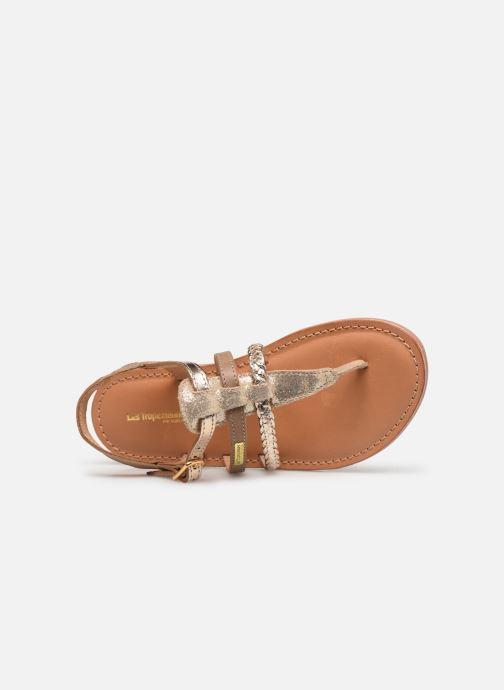 Sandales et nu-pieds Les Tropéziennes par M Belarbi Barmi Or et bronze vue gauche