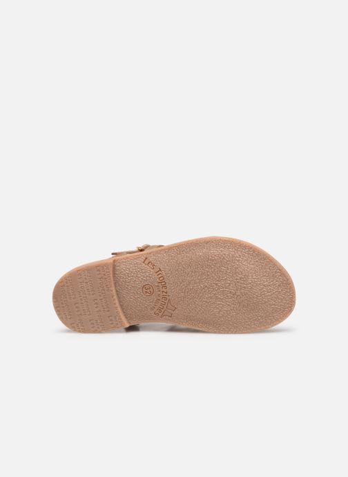 Sandales et nu-pieds Les Tropéziennes par M Belarbi Barmi Or et bronze vue haut