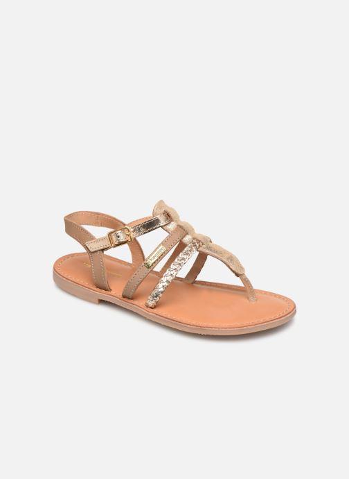 Sandales et nu-pieds Les Tropéziennes par M Belarbi Barmi Or et bronze vue détail/paire