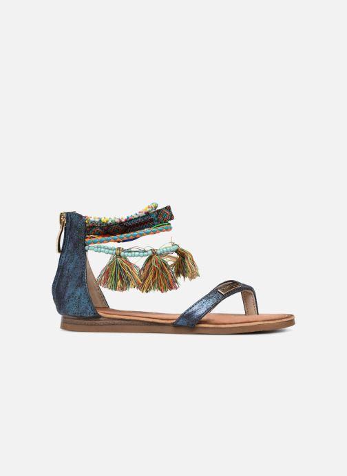 Sandales et nu-pieds Les Tropéziennes par M Belarbi Gringa Bleu vue derrière