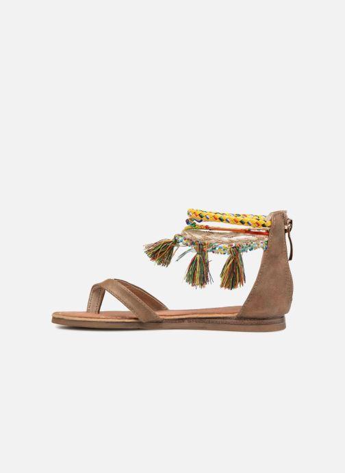 Sandali e scarpe aperte Les Tropéziennes par M Belarbi Gringa Marrone immagine frontale