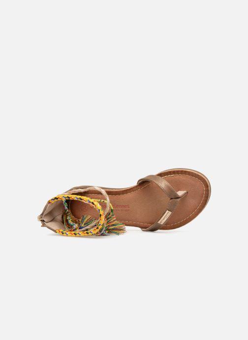 Sandali e scarpe aperte Les Tropéziennes par M Belarbi Gringa Marrone immagine sinistra