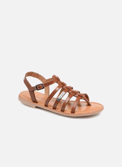 Sandales et nu-pieds Les Tropéziennes par M Belarbi Hirson Marron vue détail/paire