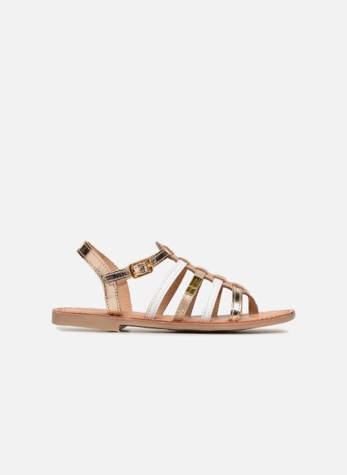 Sandales et nu-pieds Les Tropéziennes par M Belarbi Hirson Or et bronze vue derrière