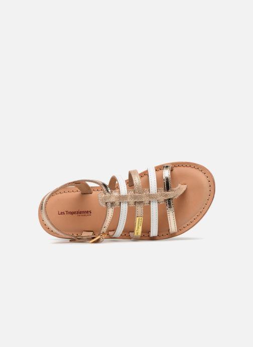 Sandales et nu-pieds Les Tropéziennes par M Belarbi Hirson Or et bronze vue gauche
