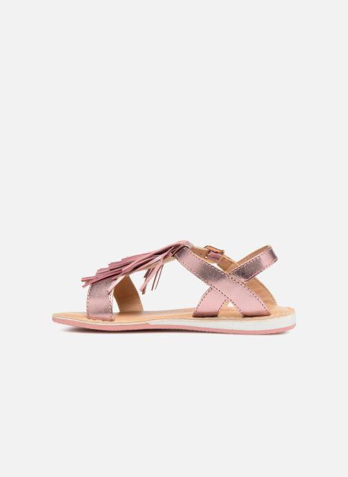Sandales et nu-pieds Les Tropéziennes par M Belarbi Iness Rose vue face