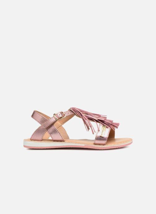 Sandales et nu-pieds Les Tropéziennes par M Belarbi Iness Rose vue derrière