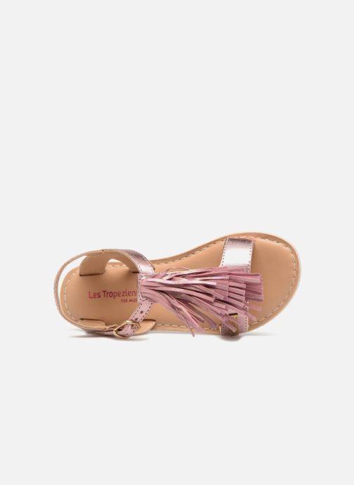 Sandales et nu-pieds Les Tropéziennes par M Belarbi Iness Rose vue gauche