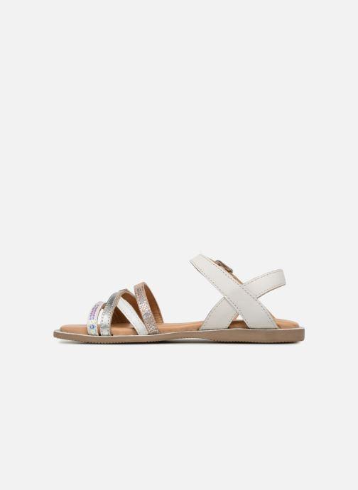 Sandales et nu-pieds Les Tropéziennes par M Belarbi Irene Argent vue face