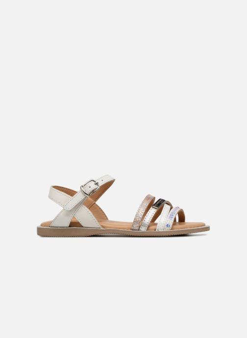 Sandales et nu-pieds Les Tropéziennes par M Belarbi Irene Argent vue derrière