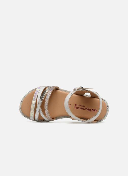 Sandales et nu-pieds Les Tropéziennes par M Belarbi Irene Argent vue gauche