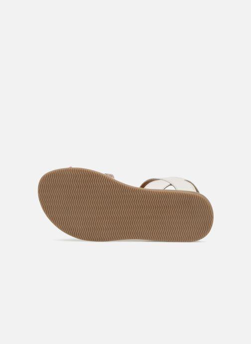 Sandales et nu-pieds Les Tropéziennes par M Belarbi Irene Argent vue haut