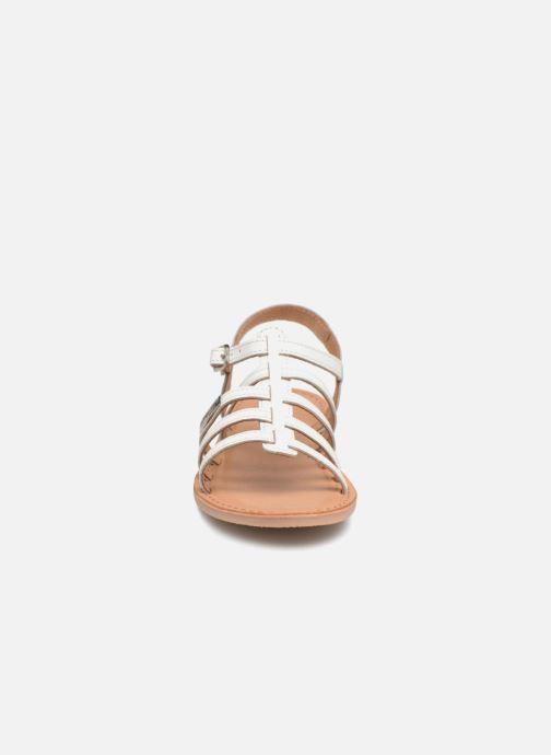 Sandales et nu-pieds Les Tropéziennes par M Belarbi Mongue Blanc vue portées chaussures