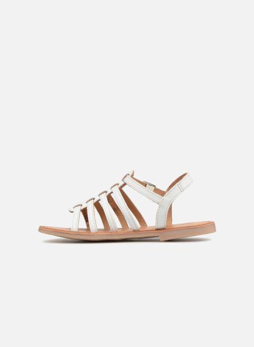 Sandales et nu-pieds Les Tropéziennes par M Belarbi Mongue Blanc vue face