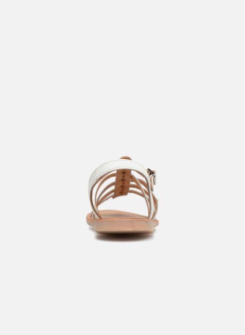 Sandales et nu-pieds Les Tropéziennes par M Belarbi Mongue Blanc vue droite