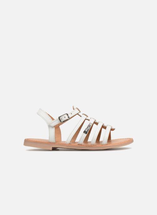 Sandales et nu-pieds Les Tropéziennes par M Belarbi Mongue Blanc vue derrière
