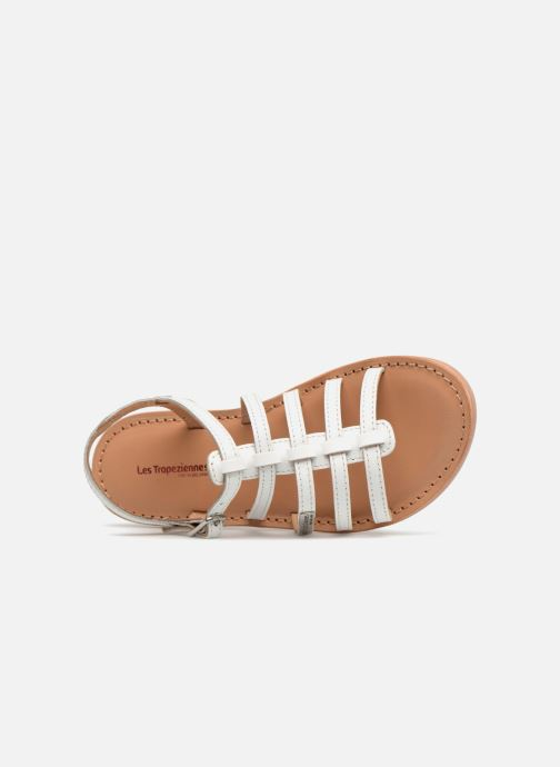 Sandales et nu-pieds Les Tropéziennes par M Belarbi Mongue Blanc vue gauche