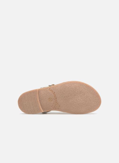 Sandales et nu-pieds Les Tropéziennes par M Belarbi Mongue Blanc vue haut