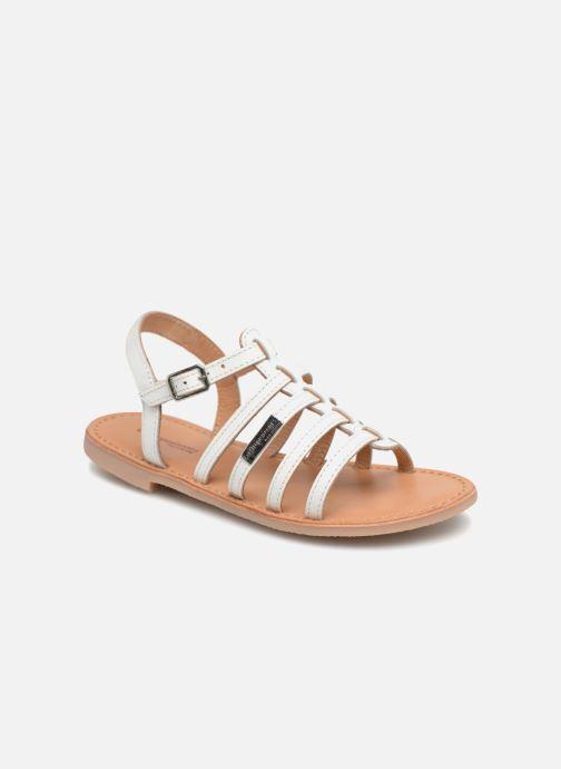 Sandales et nu-pieds Les Tropéziennes par M Belarbi Mongue Blanc vue détail/paire