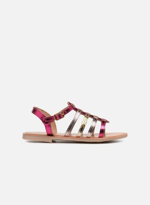Sandales et nu-pieds Les Tropéziennes par M Belarbi Mongue Rose vue derrière