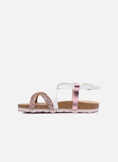 Sandales et nu-pieds Les Tropéziennes par M Belarbi Plouf Rose vue face