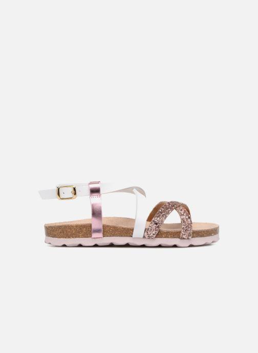 Sandales et nu-pieds Les Tropéziennes par M Belarbi Plouf Rose vue derrière