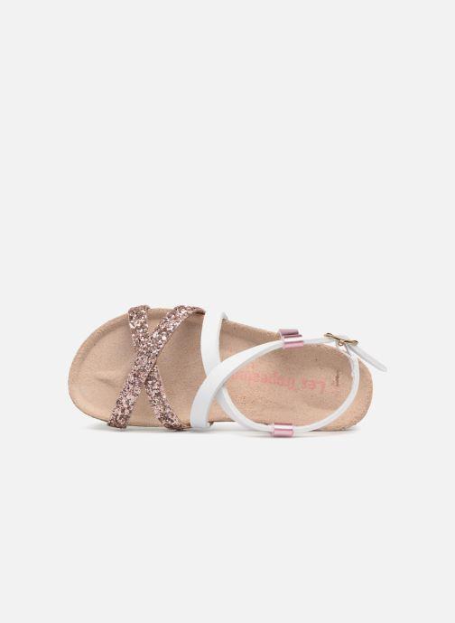 Sandales et nu-pieds Les Tropéziennes par M Belarbi Plouf Rose vue gauche