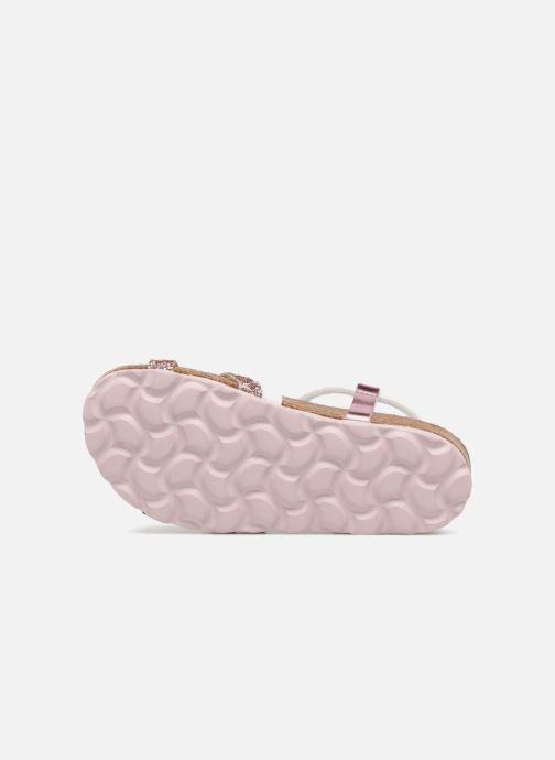 Sandales et nu-pieds Les Tropéziennes par M Belarbi Plouf Rose vue haut
