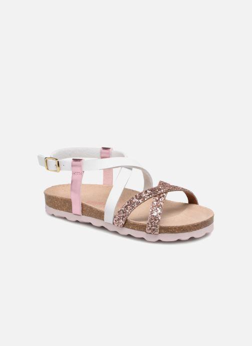 Sandales et nu-pieds Les Tropéziennes par M Belarbi Plouf Rose vue détail/paire
