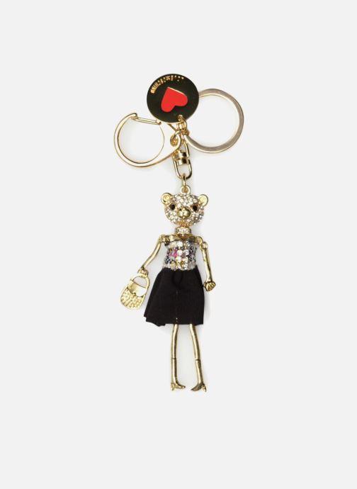Marroquinería pequeña Love Moschino Porte-clés Poupée Oro y bronce vista de detalle / par