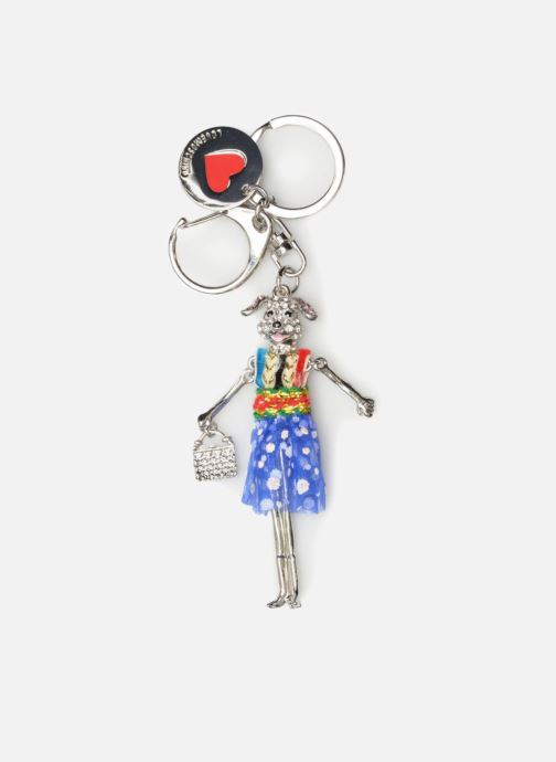 Marroquinería pequeña Love Moschino Porte-clés Poupée Plateado vista de detalle / par