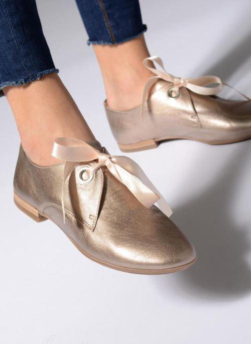 Bronze Et or Astral Lacets À Chez Rose Chaussures Georgia paxvq1tPwW